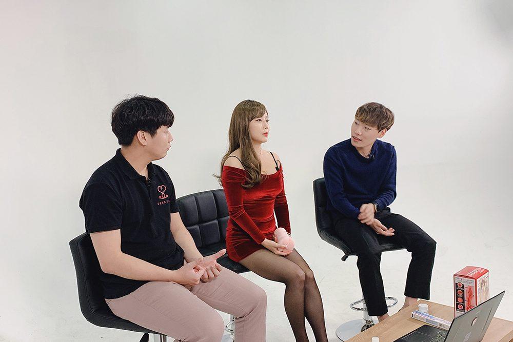 레드 홀복 초미니원피스 이채담