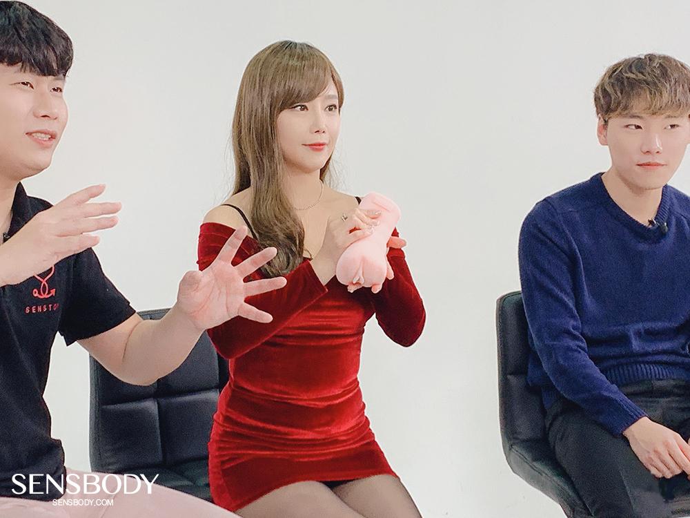 유튜브 '충동TV' 이채담 오나홀 영상 촬영 현장