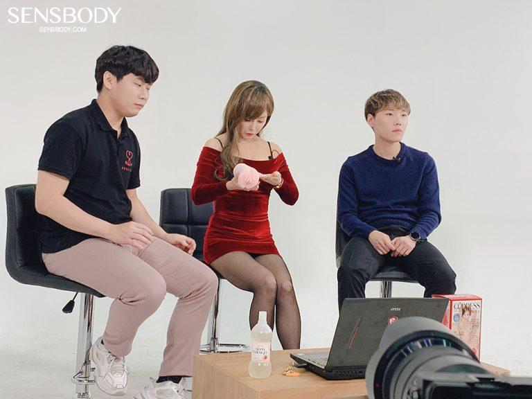 이채담 오나홀 온몸으로 홍보하는 배우